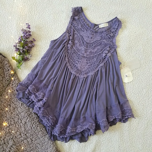 8e3caacd2c8 NWT Altar d State  Timeless Lace Tank  Size L